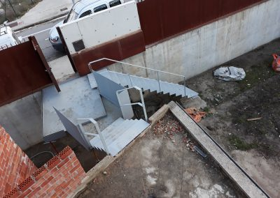 Escalera metálicas Vitoria-Gasteiz