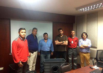 Reuniones con INTERAGUA (Guayaquil)