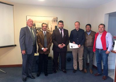 Reuniones con las autoridades de Ecuador Oriente